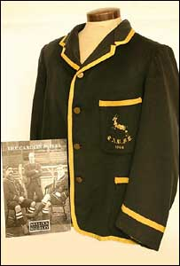South African International Rugby Blazer dating to 1906/7