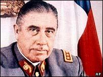 1973 portrait of Gen Pinochet