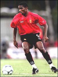 Cameroon and Real Mallorca's Samuel Eto'o Fils