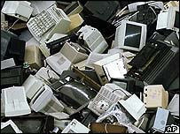 Discarded computers, AP