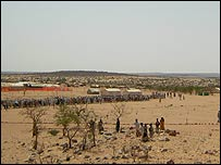 Refugee camp in Chad