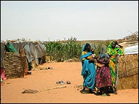 Refugees from the Darfur conflict