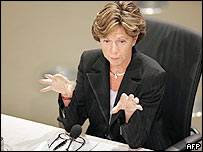 European Union commissioner-designate for Competition Neelie Kroes