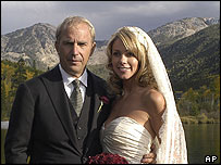 Kevin and Christine Costner