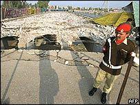 Musharraf assassination attempt site in Rawalpindi