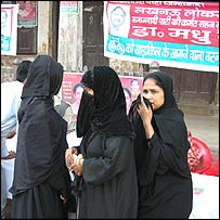 Muslim voters in Lucknow