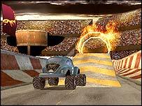 Stuntcar game
