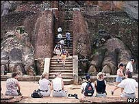 Rock fortress at Sigiriya