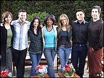 Friends cast and Oprah Winfrey