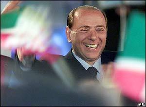 Silvio Berlusconi marks Forza Italia anniversary