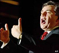Gordon Brown, ministro de Econom�a brit�nico
