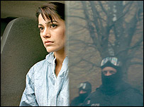 Actress who played a Muslim police officer in Dirty War