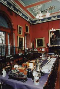 Interior of Trinity House - Copyright Historic Scotland single use for BBC News Online
