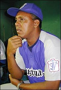 Rey Anglada, manager de los Industriales y antiguo jugador del equipo.