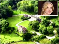 Madonna and her house