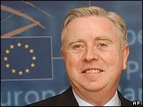 European Parliament President Pat Cox