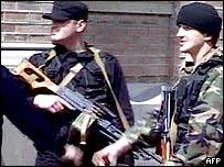 Militiamen in Ajaria