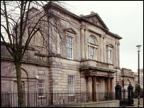 Exterior of Trinity House - Copyright Historic Scotland single use for BBC News Online