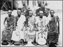 Yaw Ofori and his singing band
