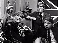 Virginia Stride, Alan Bennett and John Sergeant
