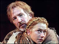 Alan Rickman and Helen Mirren