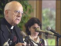 Thomas Dupre, obispo acusado de abusos sexuales