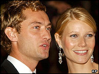 Gwyneth Paltrow and Jude Law