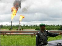 Oilfields in Nigeria's Niger Delta