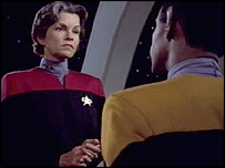 Genevieve Bujold as Captain Janeway