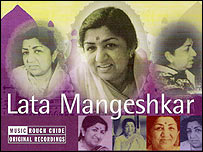 Cover of The Rough Guide To Bollywood Legends: Lata Mangeshkar