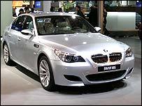 BMW M5 at the Paris Motor Show