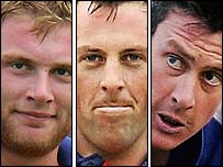 Flintoff, Trescothick and Giles may be rested