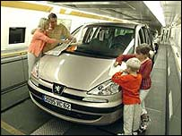 Eurotunnel passengers