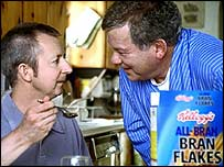William Shatner advertises a breakfast cereal