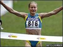 World Champion Benita Johnson