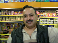 London shopkeeper Javed Hussain