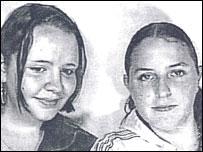 Laura (left) and Rebecca