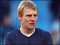 Man City coach Stuart Pearce