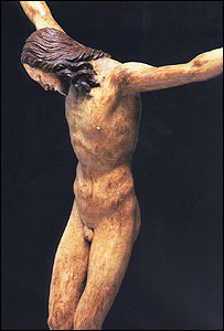 Michelangelo's Christ carving