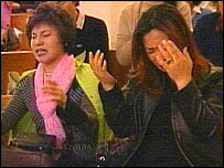 Worshippers at South Korean Church