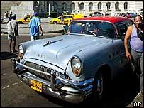 1950s American Buick in Havana