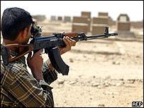 Shia militiaman
