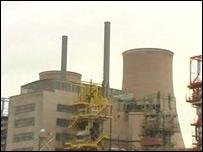 Chapelcross nuclear power station