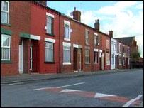 Street in Harpurhey, Manchester