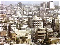 منظر عام للعاصمة البحرينية المنامة
