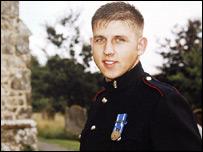 Corporal Marc Taylor