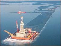 Kashagan oil field (Photo Courtesy of ConocoPhillips)