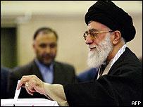 Ayatollah Khamenei, Iran's Supreme Leader