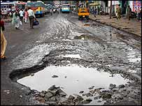 Bangalore pothole