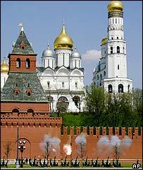 Kremlin gun salute